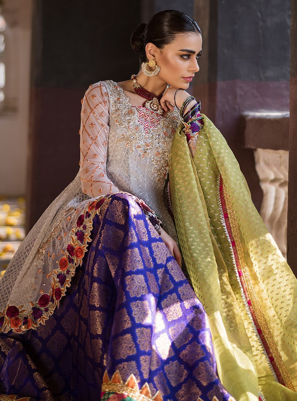90d0e494c5 9 best dresses from the mehndi dresses collection 2019 by Zainab Chottani  in USA